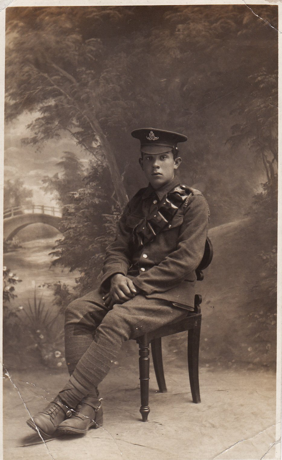 Louis Walter GOUGH, Royal Field Artillery, 1914