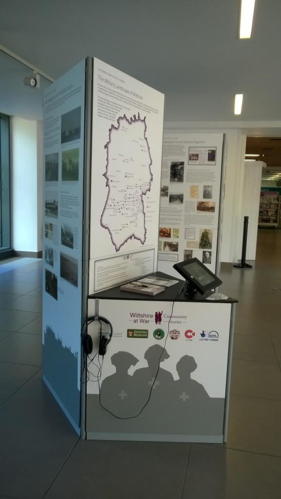 The Call to Arms exhibition at Trowbridge County Hall