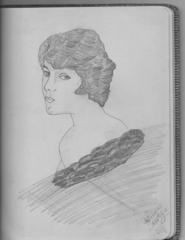 Elsie Hannan sketch