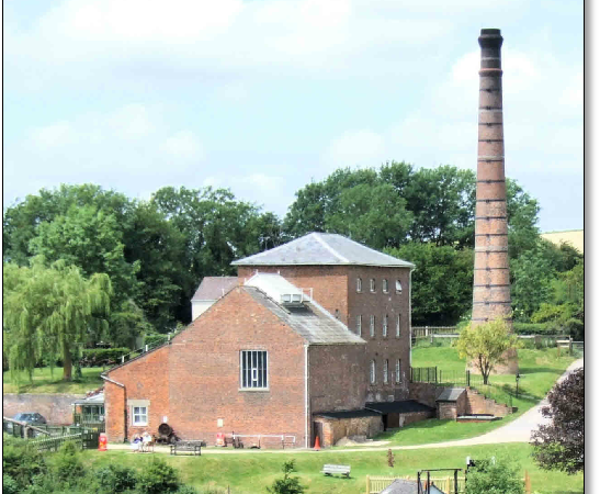 The Call to Arms visits Crofton Beam Engines