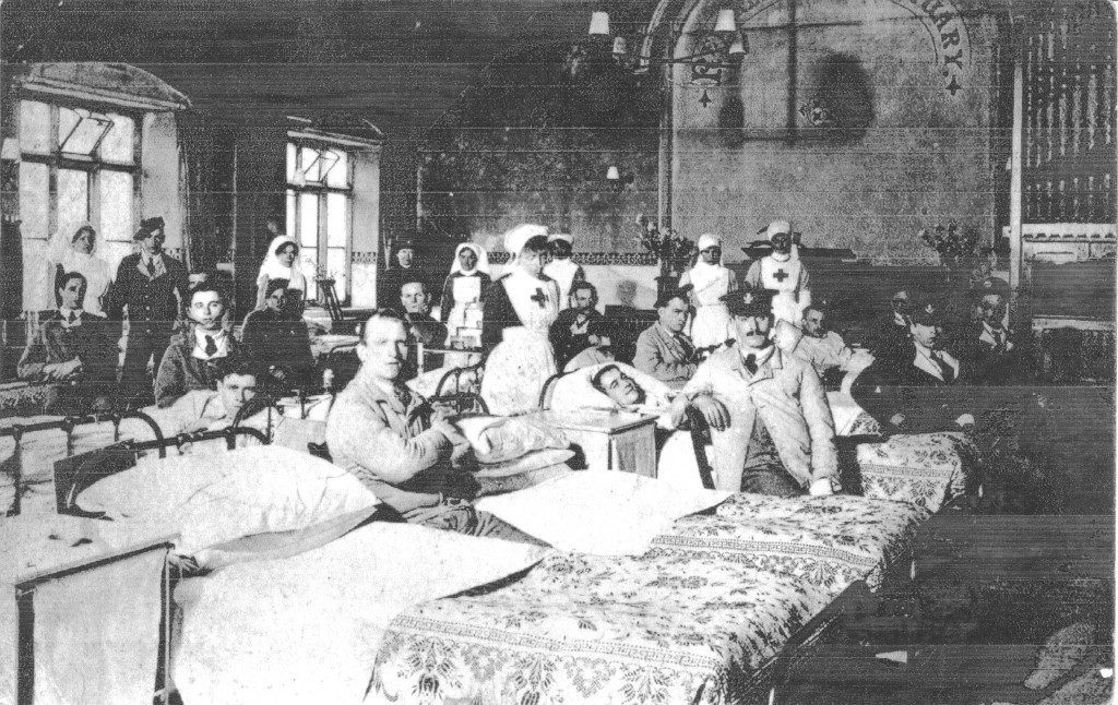 The hospital ward in Malmesbury's Wesleyan Chapel.