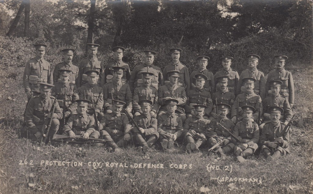 The Corsham Protection Company 1915 - with permission of Corsham Area Heritage.