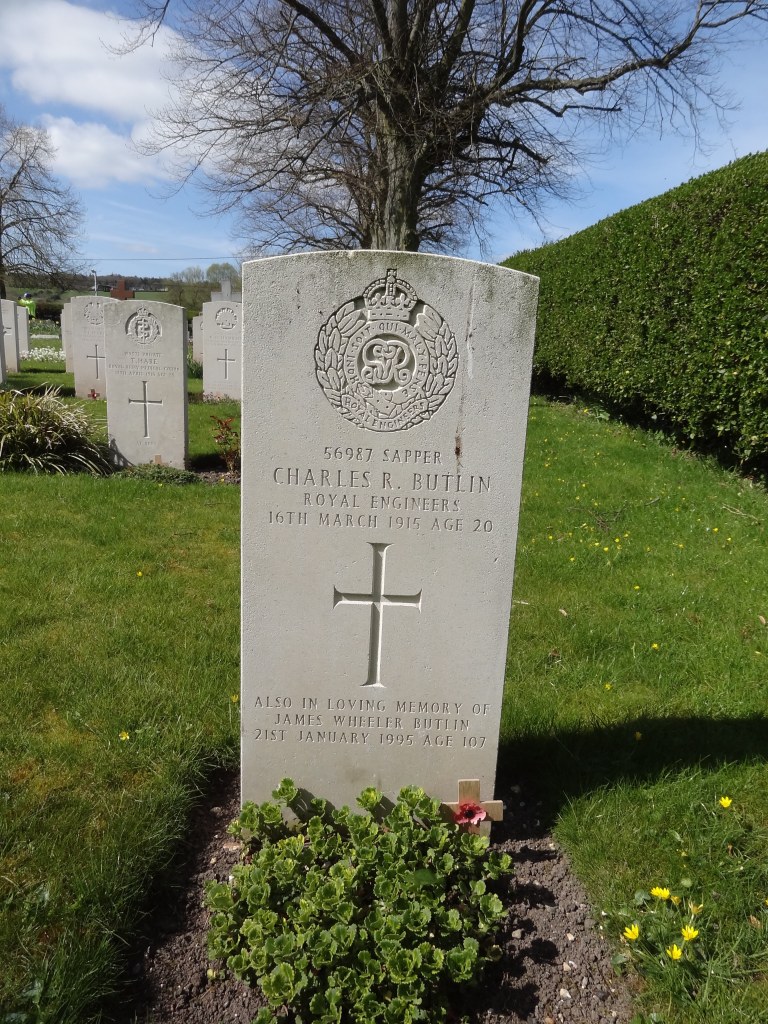 Commonwealth War Graves Commission Ref. No. 90