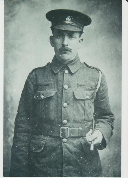 Alfred Brown in uniform