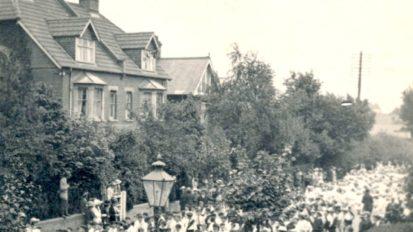 Salisbury Peace Parade – 1919