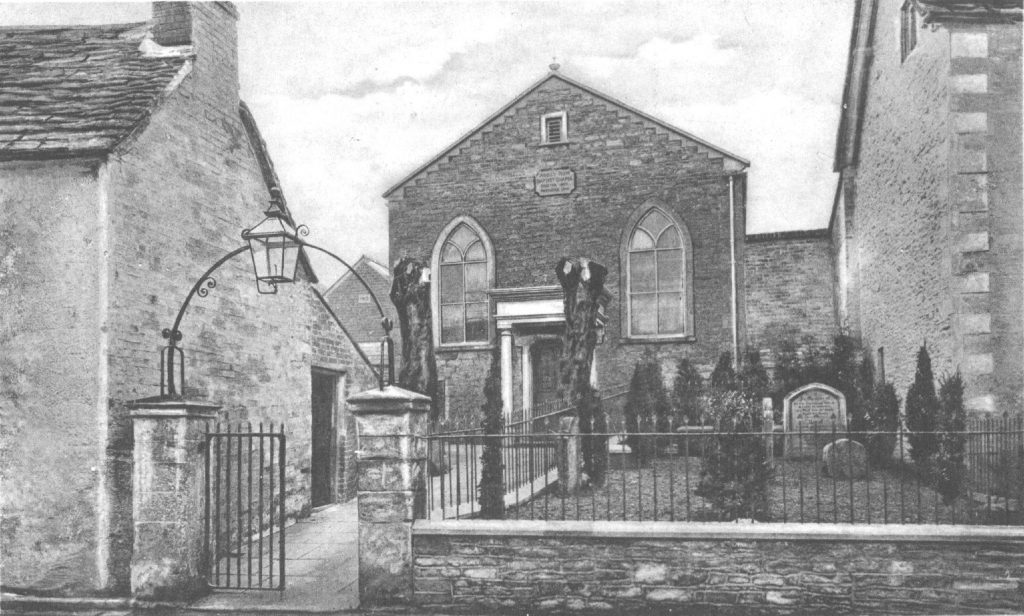 Chapel Baptist, Abbey Row 1910.  With permission of Athelstan Museum, Malmesbury