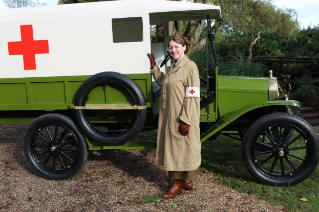 "TALK: ""Under Fire: the Women of the First Aid Yeomanry"" by Emma Shelley: Wed 9 Nov, Calne Community Hub & Library 6pm"